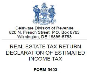 Delaware Division of Revenue